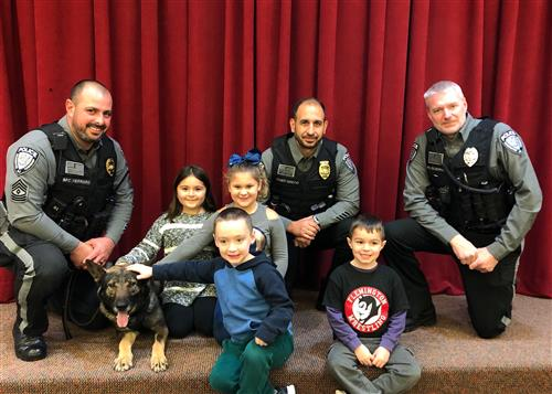 Readington Police Department K9 Visit - Three Bridges School