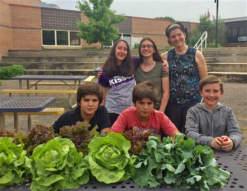 Readington Middle School - Garden Club