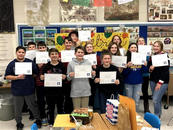 Students of Strong Character - Readington Middle School