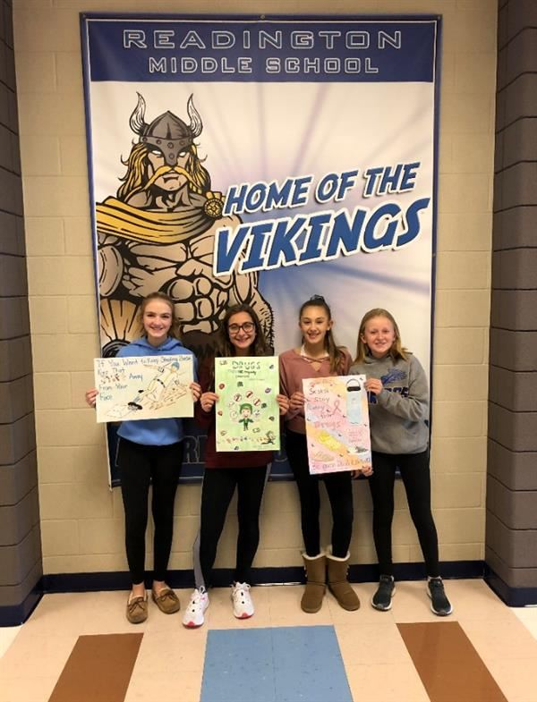 Readington Middle School - Red Ribbon Week Poster Contest